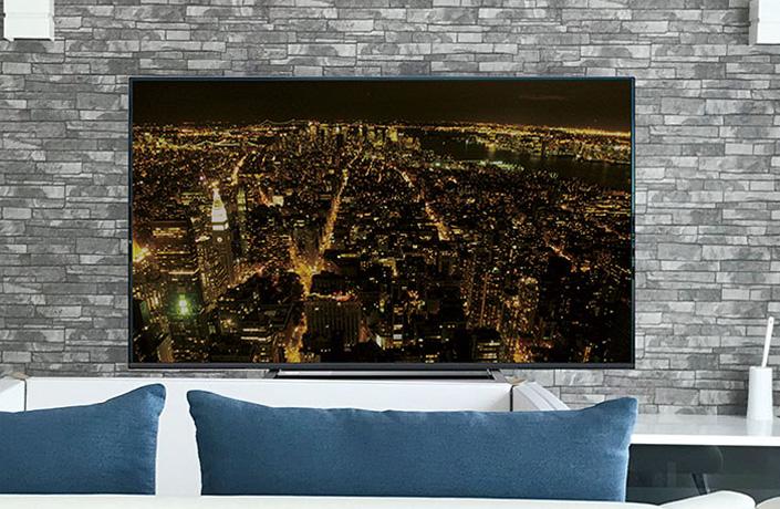 有名メーカー50V型4K対応液晶TV