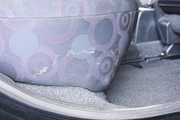 シートの汚れ等の写真(特にない方は不要)